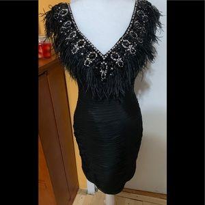 Terani Couture Black Dress